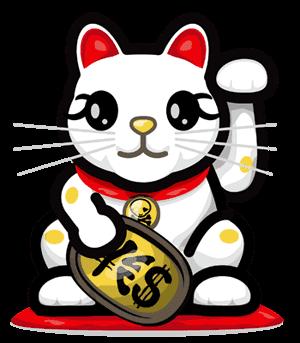 Maneki neko - Porte bonheur chinois chat ...